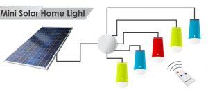 Harga lampu CVT Surabaya 5 lampu dengan solar cell