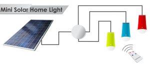 Jual lampu sehen 3 lampu dengan remot untuk penerangan ruangan