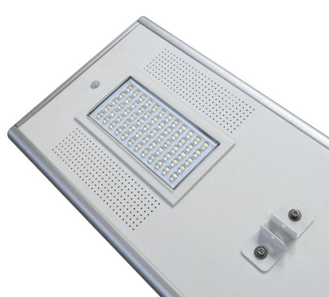 Tampilan Lampu jalan all in one 60 watt