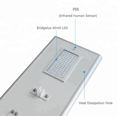 solar street light tenaga surya murah 70 watt